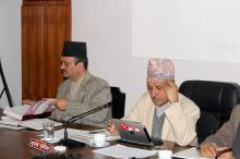 Signing of Performance Contract between MoFALD and DDC's